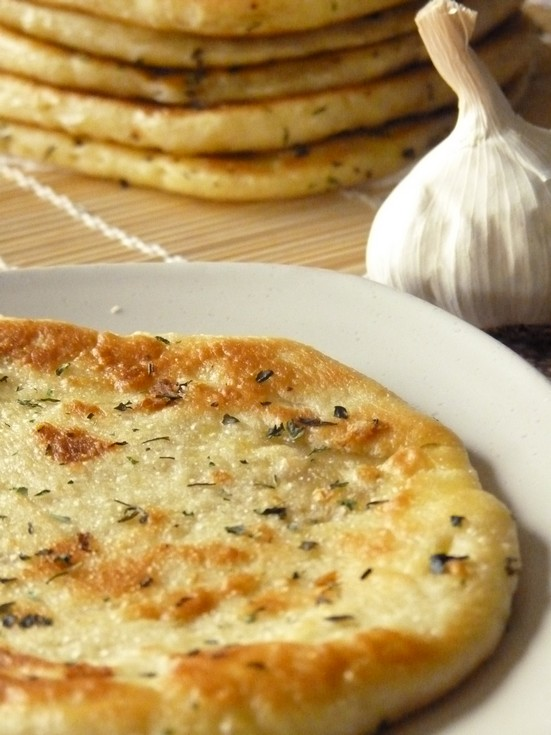 naan au fromage recette