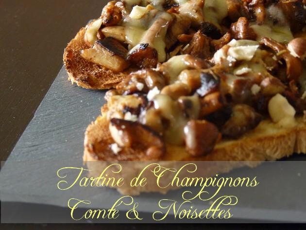 Tartine champignons1