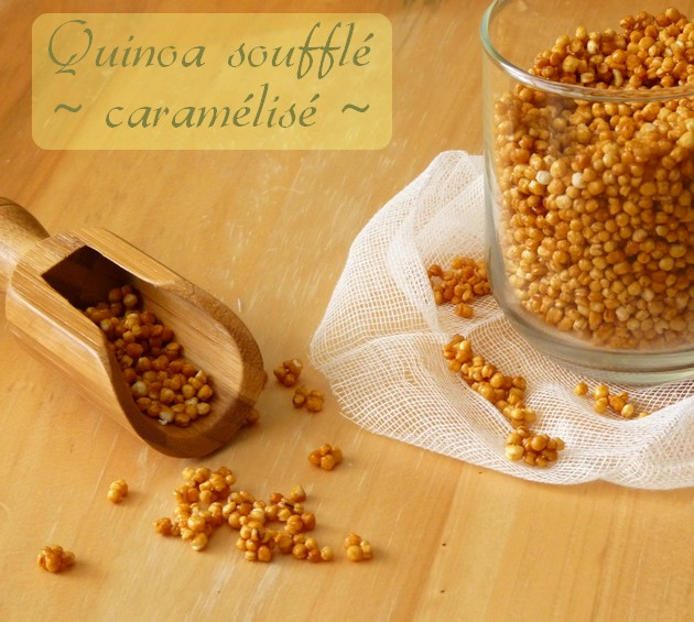 Quinoa souffle caramelise6