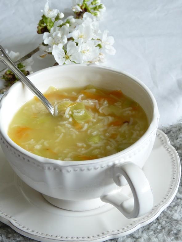Soupe de riz légumes2