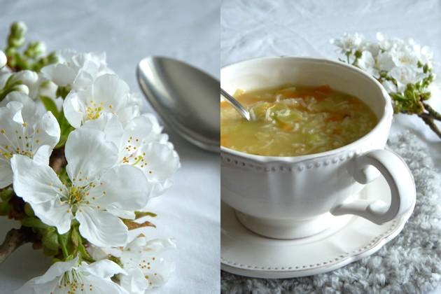 Soupe de riz légumes4