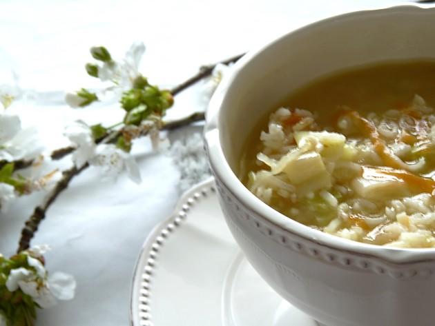 Soupe de riz légumes5