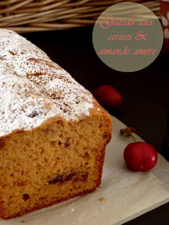Gâteau cerises et amande5