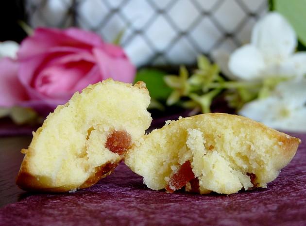 Madeleine fraises séchées choco blanc5