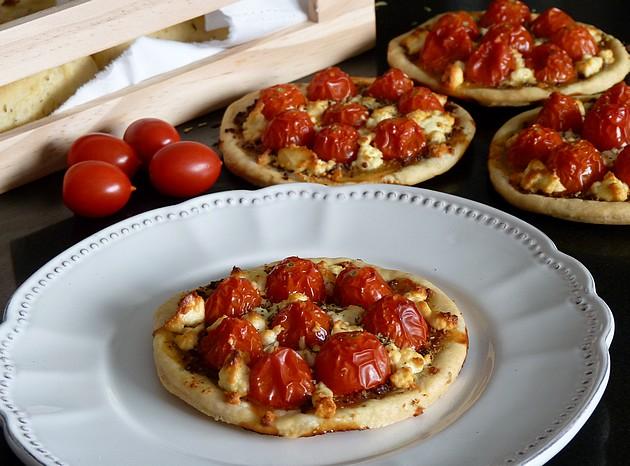 Tartelette tomate cerise feta1