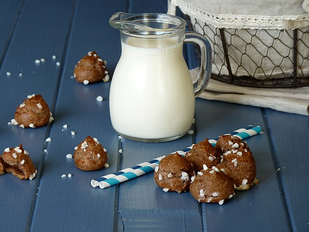 Chouquettes chocolat1