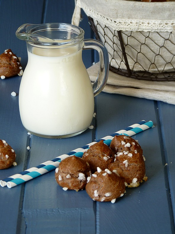 Chouquettes chocolat4