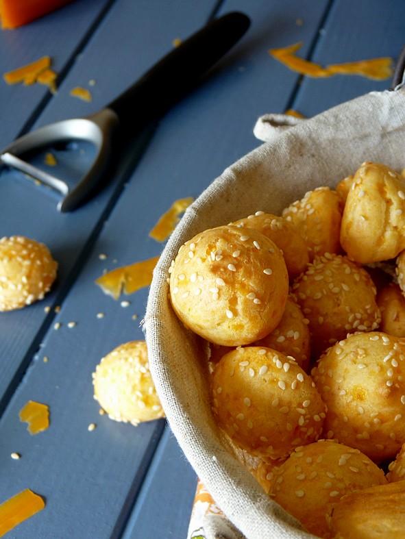 Gougères mimolette2