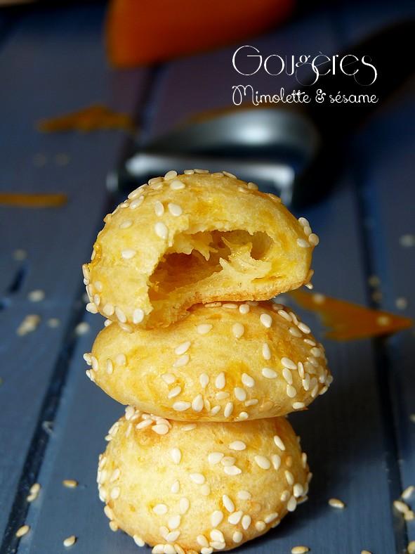 Gougères mimolette3