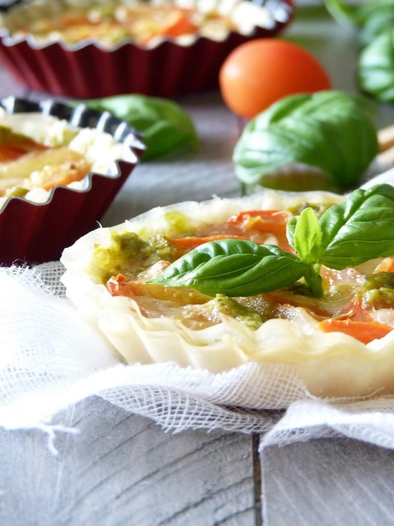 tarte filo tomate 5