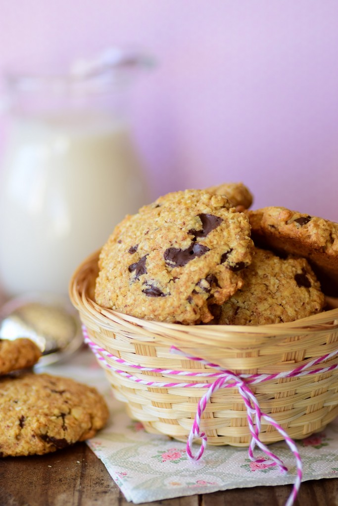 almond oatmeal cookie2