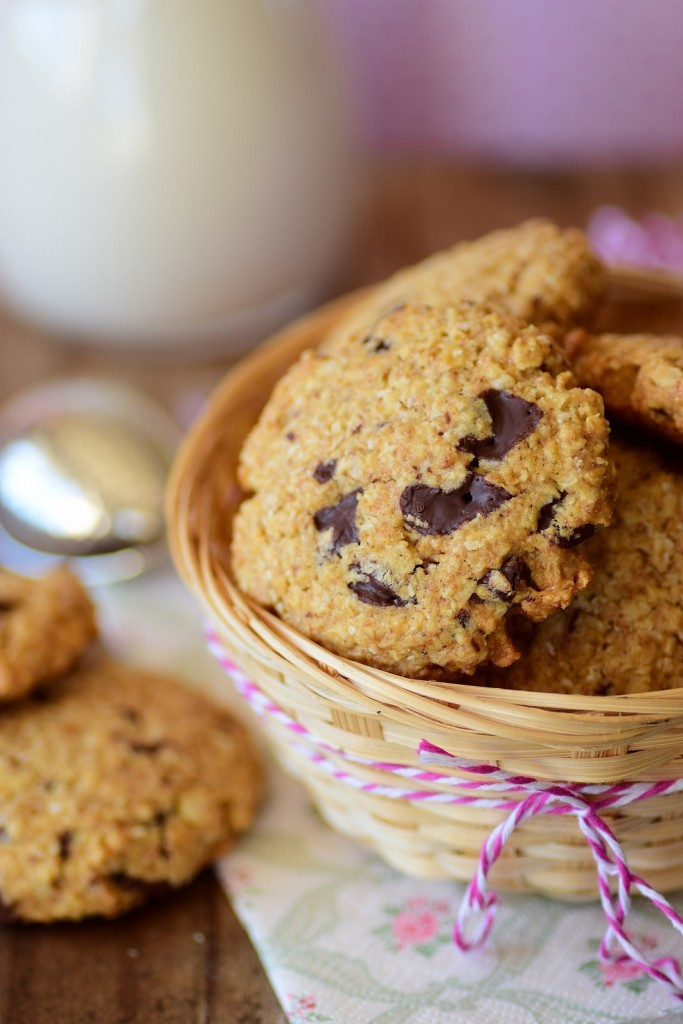 almond oatmeal cookie4