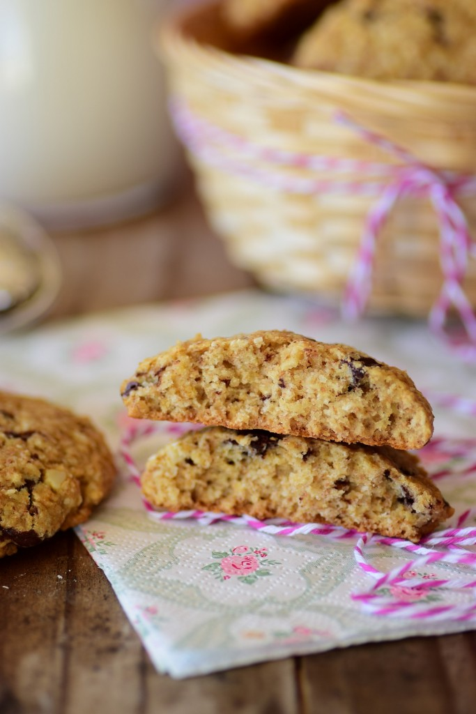 almond oatmeal cookie5