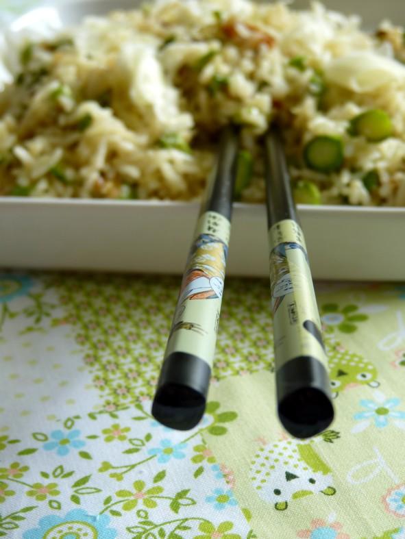 Riz frit asperges2