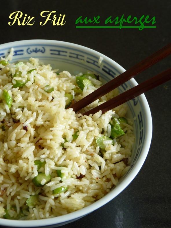 Riz frit asperges5