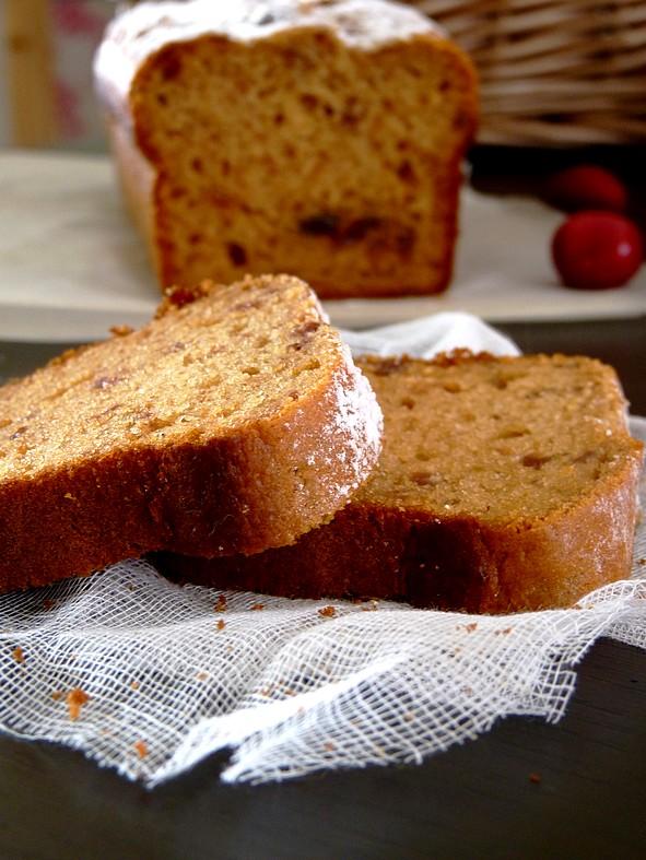 Gâteau cerises et amande3