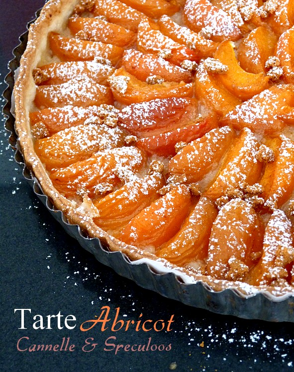 Tarte abricot speculoos cannelle5