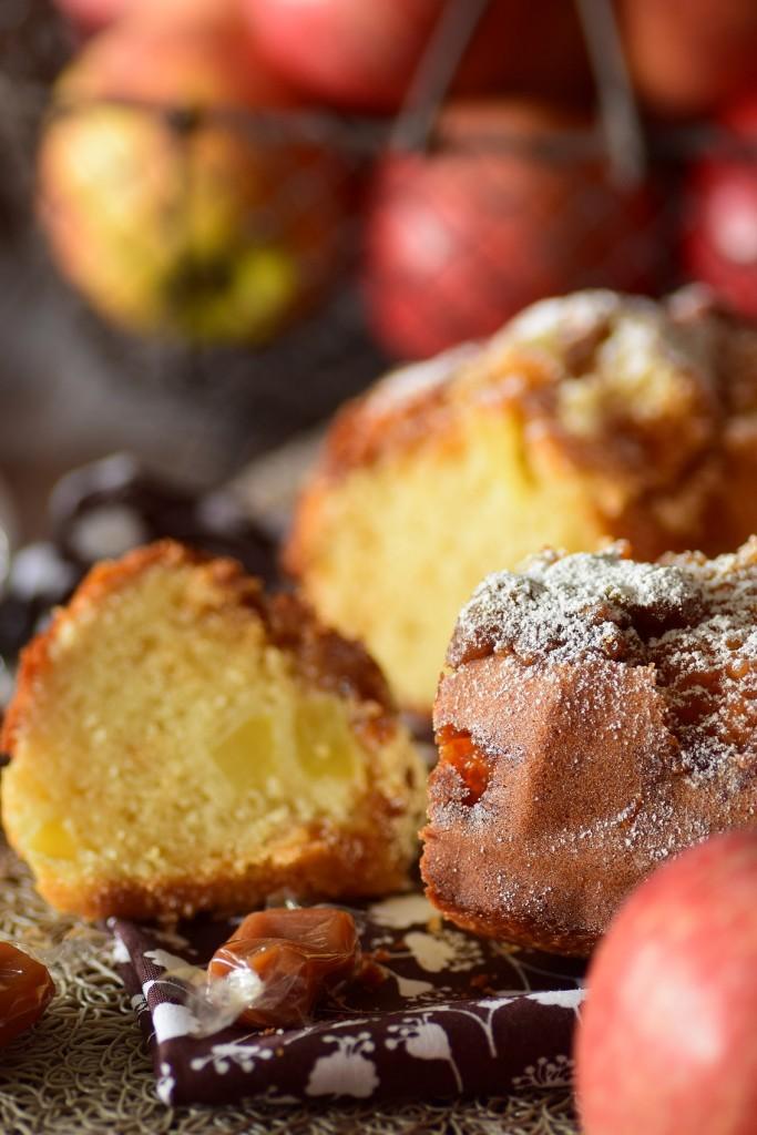 gâteau pomme caramel2