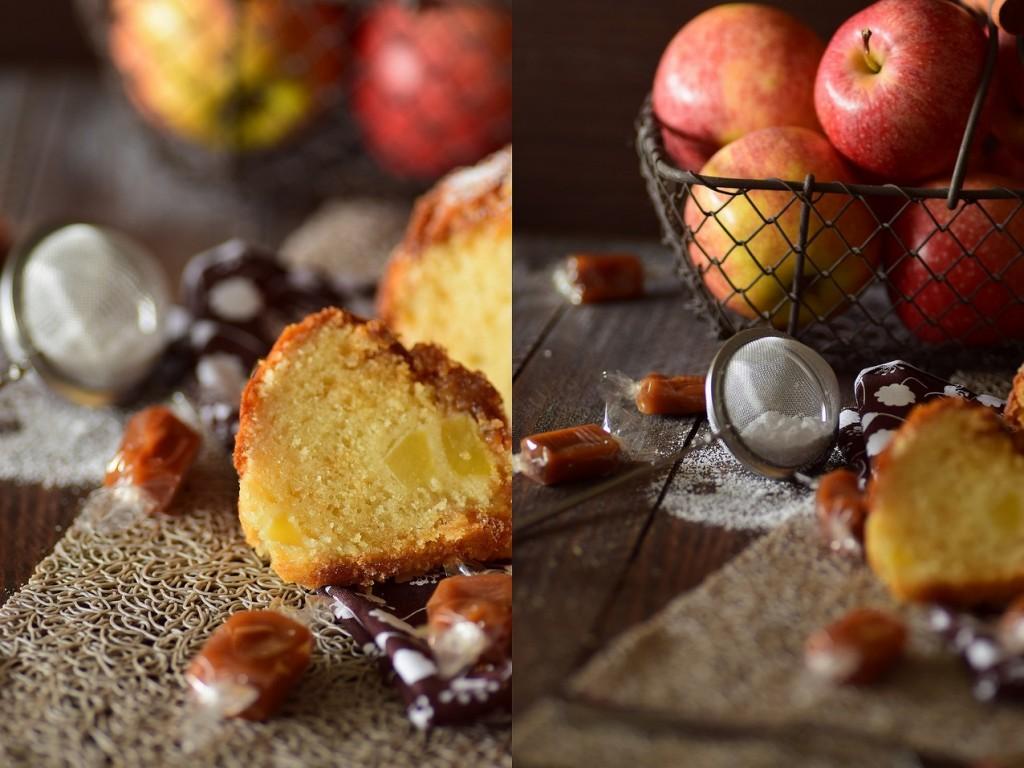 gâteau pomme caramel3