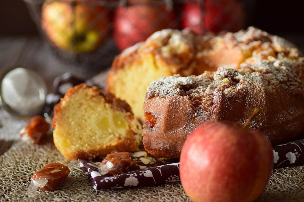 gâteau pomme caramel4