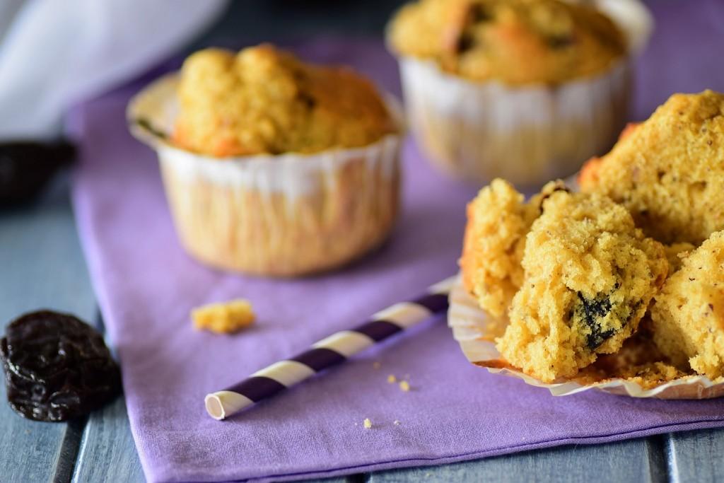 Muffins noisettes et pruneaux4