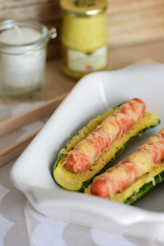 hot dog courgette2