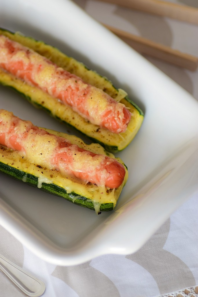 hot dog courgette3