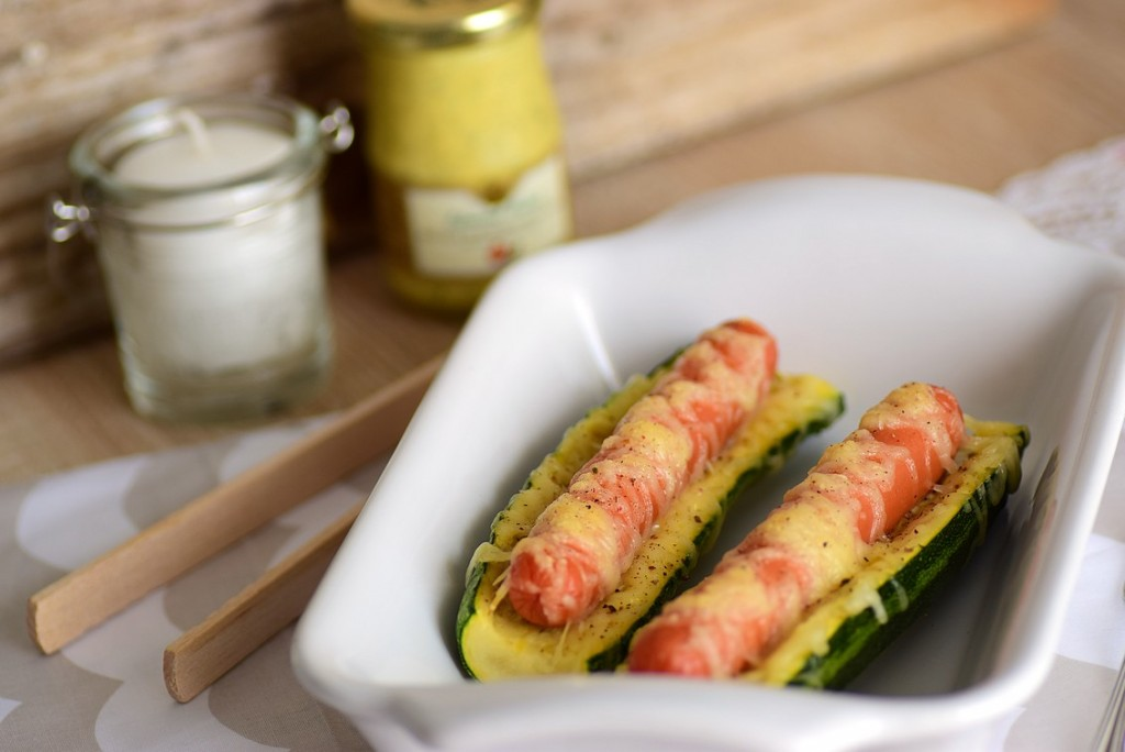hot dog courgette5