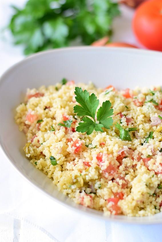 Salade semoule tomate olive2
