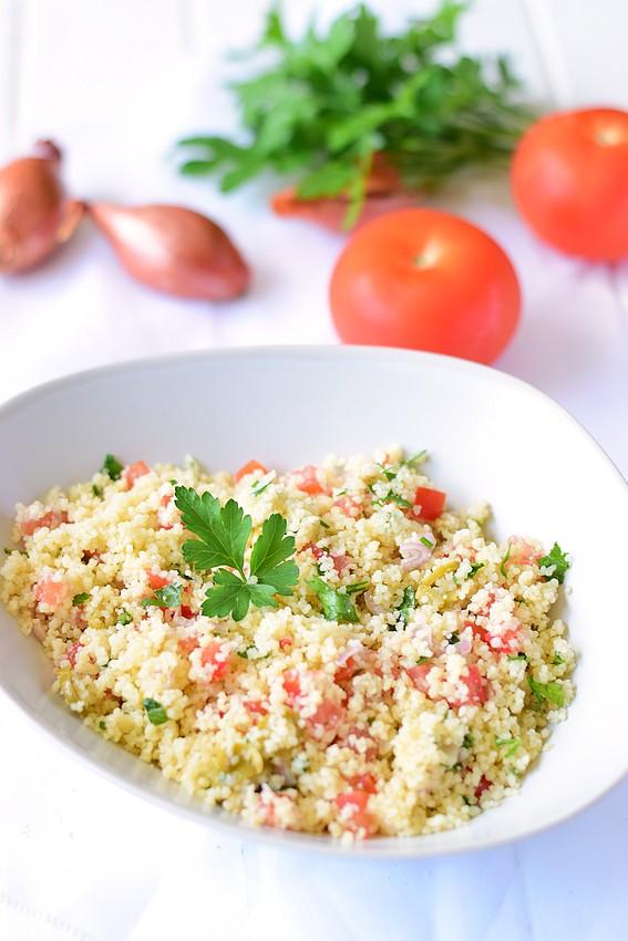 Salade semoule tomate olive5